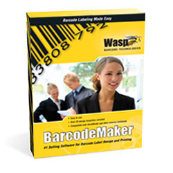 Wasp Barcode Technologies software Barcode Maker