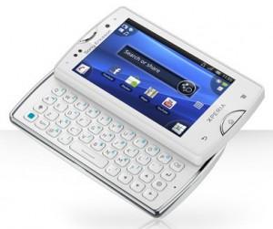 Xperia™ mini pro | Teléfono inteligente con teclado Android - Sony Ericsson